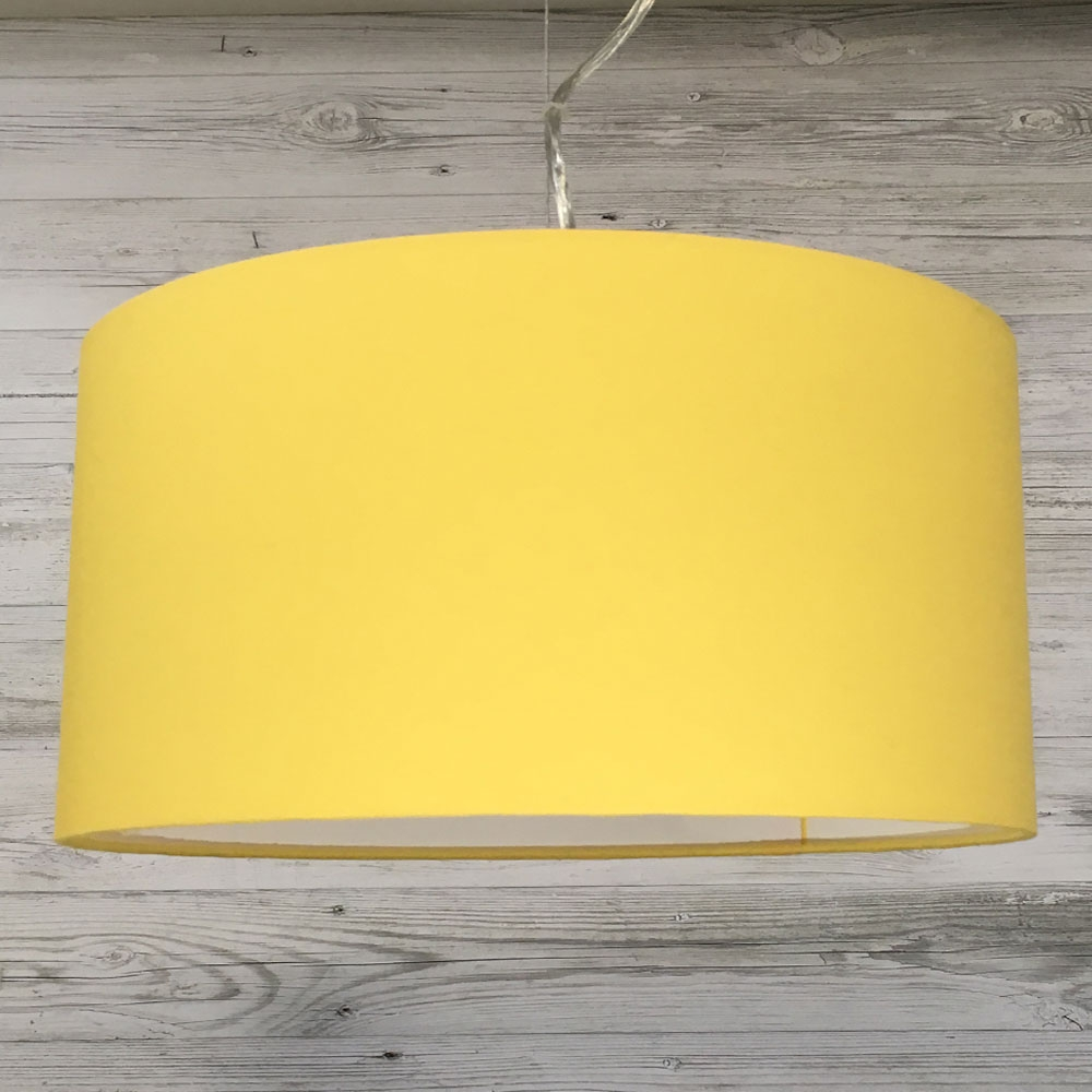 Sunflower Drum Shade
